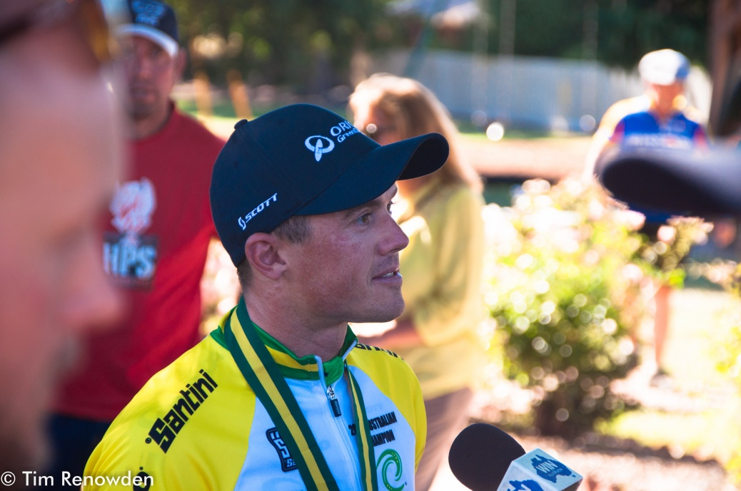 Simon Gerrans was unstoppable at the 2014 Road Nats